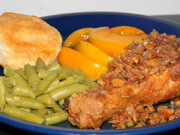 Gussie's Pecan Chicken